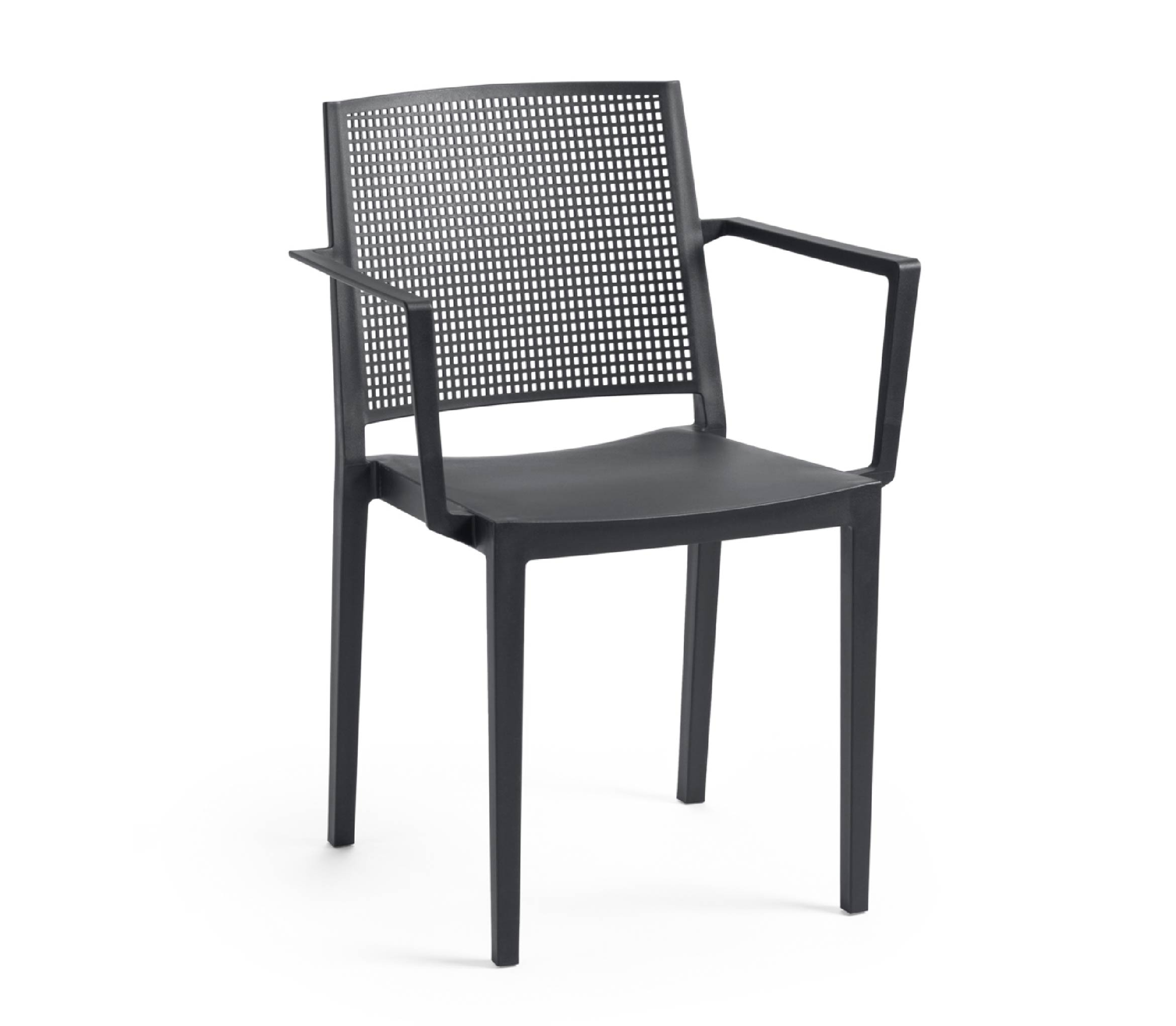 5 - TENSAI_FURNITURE_GRID_ARMCHAIR_plastic_chair_antracite_color_white_background_950_001
