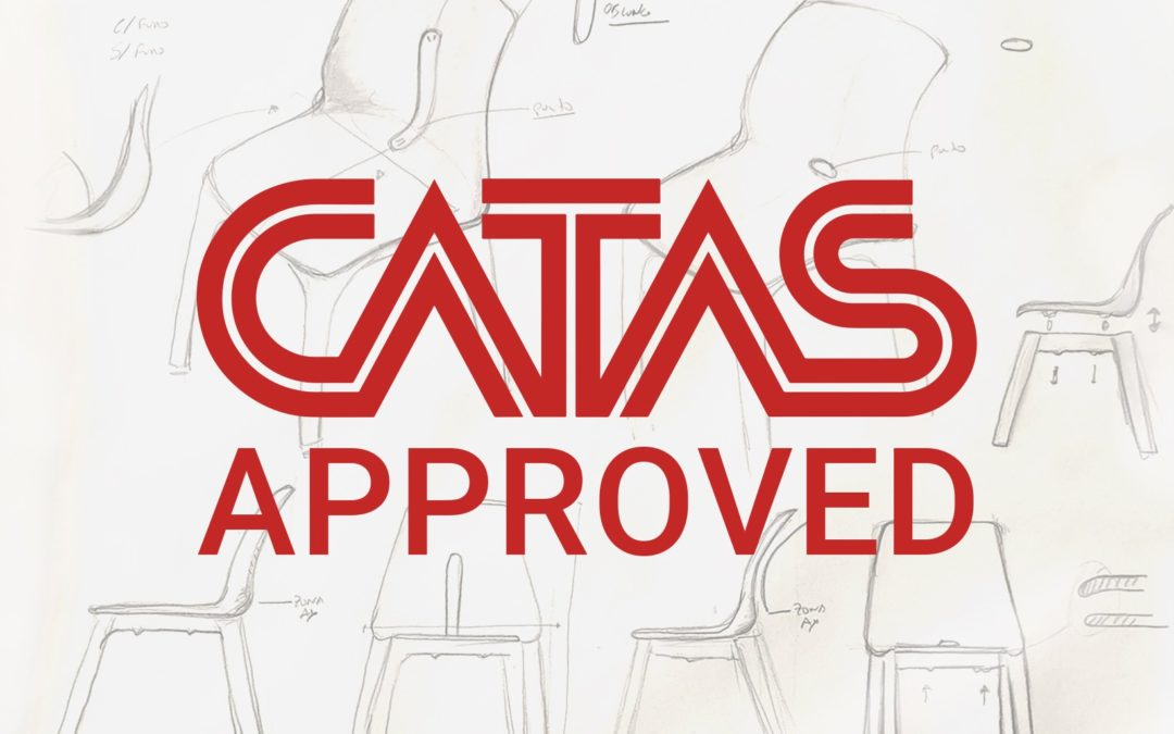 CATAS CERTIFICATION and TENSAI PLASTIC CHAIRS